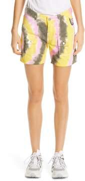 Ganni Colored Wash Denim Shorts