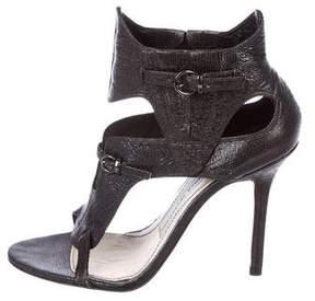 Camilla Skovgaard Embossed Caged Sandals