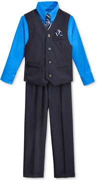 Nautica Little Boys' Stripe Vest, Shirt, Tie & Suiting Pants, Little Boys (4-7)