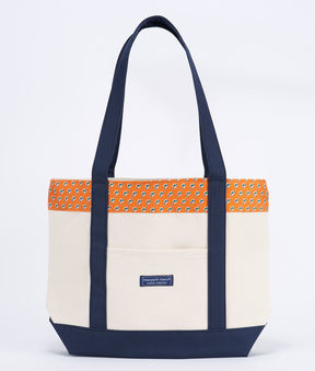Vineyard Vines Miami Dolphins Classic Tote