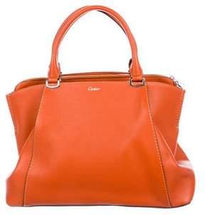 Cartier Small Leather C De Bag