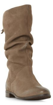 Dune London Rosalind Suede Mid-Calf Boots