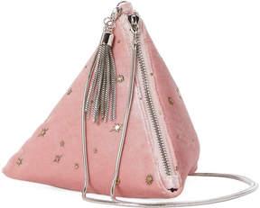 La Regale Pink Diamond Velvet Crossbody