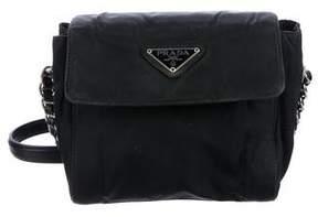 Prada Tessuto Mini Flap Crossbody Bag