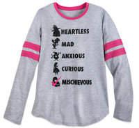 Disney Alice in Wonderland Long Sleeve T-Shirt for Women