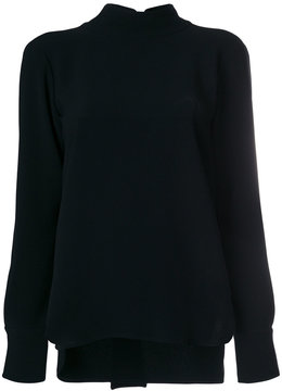 Alberto Biani plain flared top