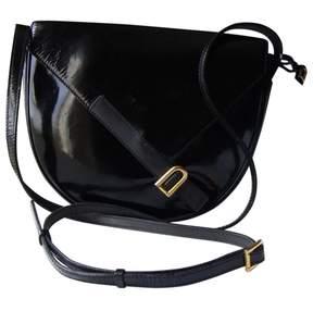 Delvaux Vintage Black Patent leather Handbag