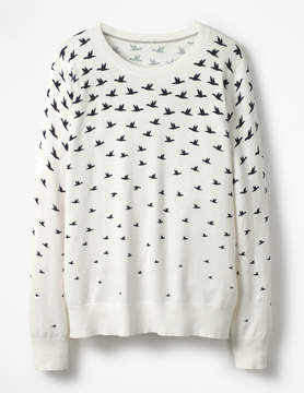 Boden Printed Sweater