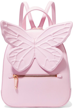 Sophia Webster - Kiko Appliquéd Leather Backpack - Baby pink