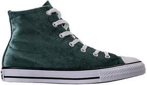 Converse Girls' Grade School Chuck Taylor High Top Velvet Casual Shoes
