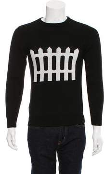 J.W.Anderson Fence Intarsia Wool Sweater
