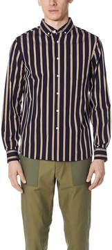 Saturdays NYC Crosby Striped Shirt