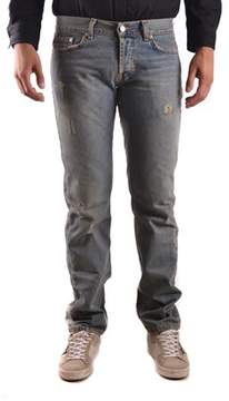 Richmond Men's Blue Cotton Jeans.