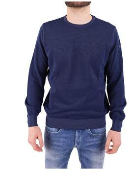 Paul & Shark Men's Blue Cotton Sweatshirt.