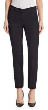 Emporio Armani Straight-Leg Ankle Trousers