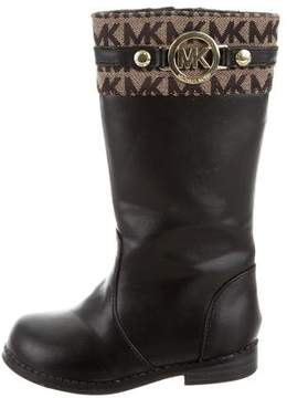 MICHAEL Michael Kors Girls' Vegan Leather Riding Boots