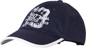 Timberland Kids Navy Logo Baseball Cap