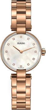 Rado R22855923 Coupole diamond watch