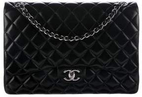 Chanel Quilted Classic Maxi Double Flap Bag