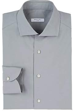 Boglioli Men's Poplin Slim Shirt