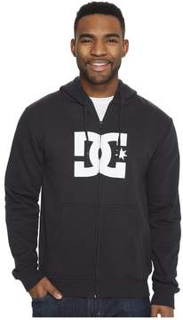 DC Star Zip Hoodie Men's Sweatshirt