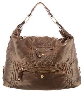 Tod's Leather-Accented Shoulder Bag