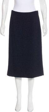 Bottega Veneta Tweed Pencil Skirt