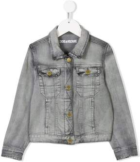 Zadig & Voltaire Kids denim jacket