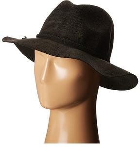 Scala Braided Faux Suede Safari Safari Hats