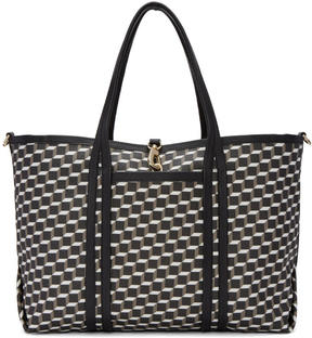 Pierre Hardy Tricolor Perspective Cube Tote