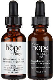 philosophy when hope is not enough AM/PM serum duo