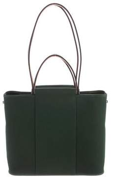 Hermes Toile Cabag Tote - GREEN - STYLE