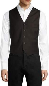 BLK DNM Men's Striped Front Vest