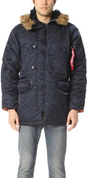 Alpha Industries Slim Fit N3-B Jacket