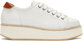 Flamingos White Tatum Sneakers