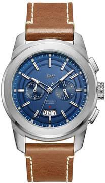 JBW Diamond Mens Brown Strap Watch-J6352d