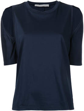 Dion Lee cutout shoulder T-shirt