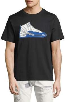 Mostly Heard Rarely Seen 8-Bit High-Top Sneaker T-Shirt
