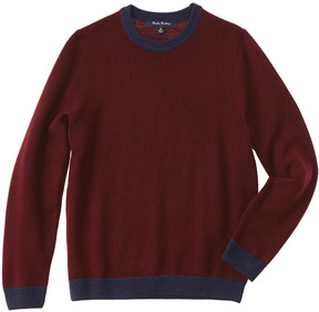 Brooks Brothers Boys' Burgundy Wool Sweater