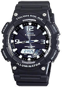 Casio Men's Tough Solar Powered Analog-DigitalSport Watch