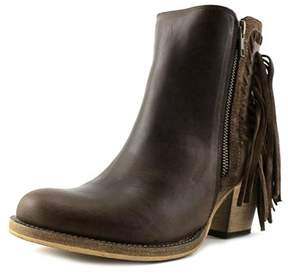 Dingo Izzy Women Round Toe Leather Brown Western Boot.