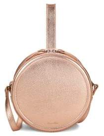 Steven Alan Oliver Metallic Leather Circle Bag