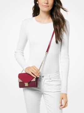MICHAEL Michael Kors Sloan Tri-Color Leather Chain Wallet