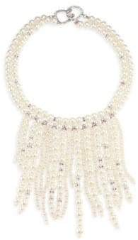 Kenneth Jay Lane Pearl Drop Necklace