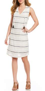 Gibson & Latimer Striped Shift Dress