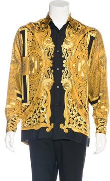 Hermes Animaux Solaires Silk Shirt