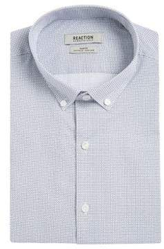 Kenneth Cole Reaction Dash Print Button-Down Shirt