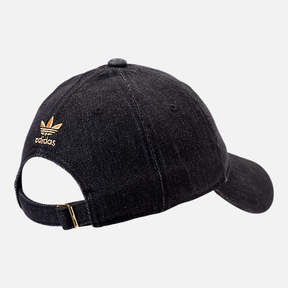 adidas Women's Relaxed Plus Denim Strapback Hat