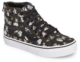 Vans Girl's X Peanuts Sk8-Hi Zip Sneaker