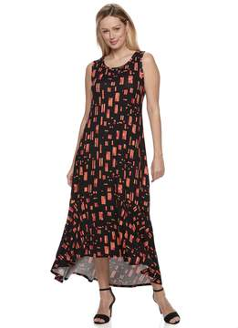 Apt. 9 Women's Ruffle High-Low Maxi Dress